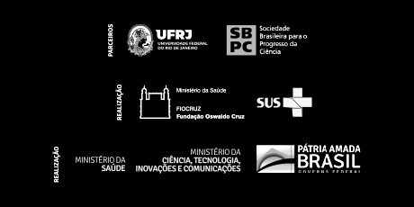 UFRJ, SBPC, FIOCRUZ, SUS, Ministério da Saúde, Ministério da Ciência, Tecnologia, Inovações e Comunicações e Governo Federal